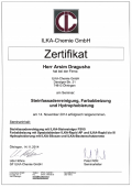 Zertifikat ILKA - A. Dragusha