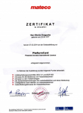 Zertifikat MATECO B. Dragusha